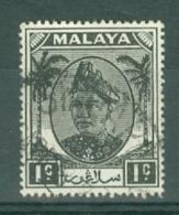 Malaya - Selangor: 1949/55   Sultan Hisamud-din Alam Shah   SG90    1c    Used - Selangor