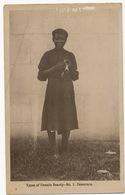 British Guiana Guyana Type Of Female Beauty Wearing A Cap  No 1 Demerara Light Crease Top Left Corner - Cartes Postales