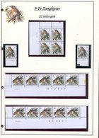 Belgie 2426 S2 Buzin Vogels Birds Feuille De Collection Numéro De Planche Plaatnummer Drukdatum - 1985-.. Pájaros (Buzin)