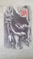 CPA ANIMEE GATHERING BANANAS- CEYLON- - Sri Lanka (Ceylon)