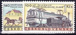 ** Tchécoslovaquie 1968 Mi 1806-7 (Yv 1654-5), (MNH) - Unused Stamps