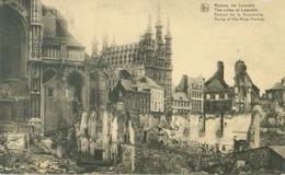 Louvain; Ruines De Louvain, Ruines De La Boucherie - Non Voyagé. (Nels) - Leuven