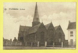 * Wachtebeke (Oost Vlaanderen) * (PDS - A. De Clercq) De Kerk, L'église, Church, Kirche, Cimétière, Kerkhof, Rare, Old - Wachtebeke
