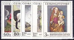 ** Tchécoslovaquie 1968 Mi 1839-43 (Yv 1686-90), (MNH) - Unused Stamps