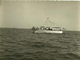 040918B - PHOTO 1959 - 30 LE GRAU DU ROI Bateau La Belle Margot - Le Grau-du-Roi
