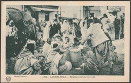 Restaurant Bon Marché, Casablanca, C.1920 - Flandrin CPA - Casablanca