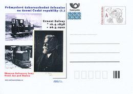 Rep. Ceca / Cart. Postali (Pre2012/20) Ferrovie Industriali A Scartamento Ridotto, Museo All'aperto (Cave Di Solvay) - Fabbriche E Imprese