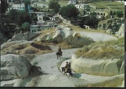 TURCHIA - ANATOLIA - VILLAGGIO TIPICO - FORMATO GRANDE 17X12 - VIAGGIATA 1989 - Turchia