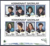 1995 AZERBAIDJAN 202-9**  Mission Apollo, Femmes Astronautes - Azerbaïdjan