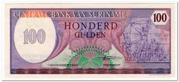 SURINAME,100 GULDEN,1985,P.128b,UNC - Surinam