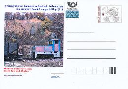 Rep. Ceca / Cart. Postali (Pre2012/21) Ferrovie Industriali A Scartamento Ridotto, Museo All'aperto (Cave Di Solvay) - Fabbriche E Imprese