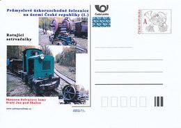 Rep. Ceca / Cart. Postali (Pre2012/22) Ferrovie Industriali A Scartamento Ridotto, Museo All'aperto: Cave Di Solvay - Fabbriche E Imprese