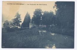 TOURS Sur MEYMONT Près D'Olliergues, Le Château De Brugnon - Bon état - Sonstige Gemeinden