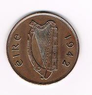 =&   IERLAND  1 PENNY  1942 - Irlande