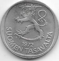 *finland 1 Markka 1972  KM 49a - Finlande