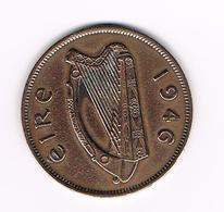 =&   IERLAND  1 PENNY  1946 - Irlande
