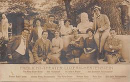 Hertenstein Freilicht-Theater Darsteller - LU Lucerne