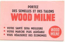 Buvard  ( 21 X 14 Cm ) Wood Milne Semelles Et Talons ( Pliures ) - Shoes