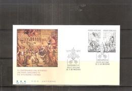 Vatican - FDC 1977 - 6ème Centenaire Du Retour Du Pape Grégoire XI D'Avignon à Rome - Série Complète - FDC