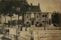 Breda // Tramstation Haagpoort (Met Voorgrond Paardentram Rn Waarschijnlijk Stoomtram Achtergrond 19?4 Krt Slap! - Breda