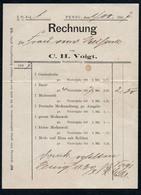 B6482 - Penig - Rechnung C.H. Voigt - 1800 – 1899