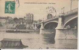 D92 - COURBEVOIE -  BECON LES BRUYERES - PONT BINEAU  - Bateaux - Courbevoie