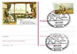 """(FC6) BRD Amtliche GZS-Sonderpostkarte PSo 11 """"PHILATELIA'85 In Köln"""" WSt """"100.Todestag Von Carl Spitzweg, ESSt 8.11.85 - [7] Repubblica Federale"""