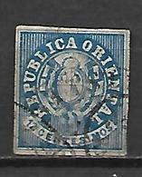 URUGUAY    -  1864 .  Y&T N° 22 Oblitéré. - Uruguay