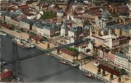 NANTES - Vue Aérienne Du Port Et Du Pont Transbordeur. - Nantes