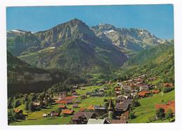 Suisse Valais Champéry N°3739 Très Belle Vue Générale Et La Dent De Bonavaux Photoglob Wehrli SA Zürich - VS Valais