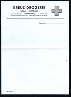 B6489 - Penig - Blanco Rechnung Quittung - Drogerie Klaus Thamhain - Droguerie & Parfumerie