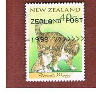 NUOVA ZELANDA (NEW ZEALAND) - SG 2133  -  1998   ANIMALS: DOMESTIC CAT                  -  USED° - New Zealand