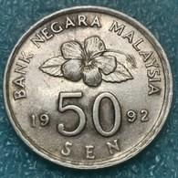 Malaysia 50 Sen, 1992 - Malaysie