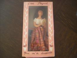 "Poupée Peynet Dans Sa Boîte D'origine ""Gipsy"" + 3 Mini-catalogues - Dolls"