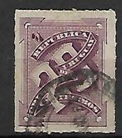 URUGUAY    -  1884 .  Y&T N° 64 Oblitéré - Uruguay