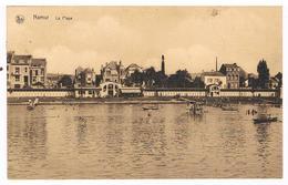 CPA Peu Fréquente : NAMUR JAMBES , La Plage - Namur