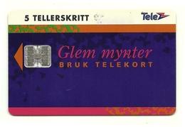Norvegia - Tessera Telefonica Da 65 Units T552 - Telenor, - Jeux Olympiques