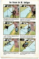 HUMOUR(ILLUSTRATEUR) PUBLICITE GRAND BAZAR DE LA RUE DE RENNES - Humour