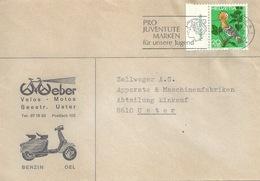 "Motiv Brief  ""Weber, Velos Motos, Uster""  (Vespa)           1970 - Svizzera"