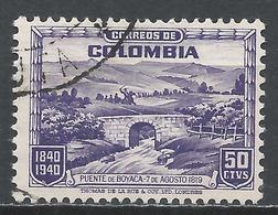 Colombia 1940. Scott #482 (U) Bridge At Boyaca * - Colombia
