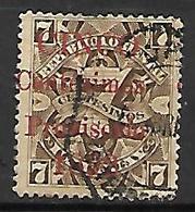 URUGUAY    -  1891 .  Y&T N° 87 Oblitéré.   Surchargé - Uruguay