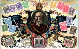 Timbres - Majestal Kaiser Franz Joseph I - Oblitération Bordeaux - Timbres (représentations)