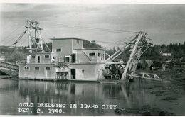 IDAHO CITY) MINE OR) EXPLOITATION AURIFERE - Etats-Unis