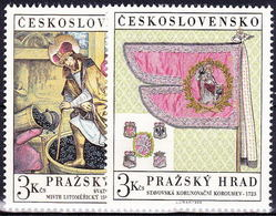 ** Tchécoslovaquie 1969 Mi 1876-7 (Yv 1723-4), (MNH) - Unused Stamps