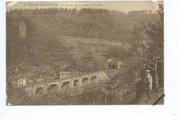 Yvoir Tunnel De La Ligne Ciney ( Griffe Postale YVOIR ) - Yvoir