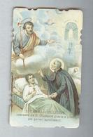 SAN CAMILLO DE LELLIS...SANTINO....HOLY CARD - Religione & Esoterismo