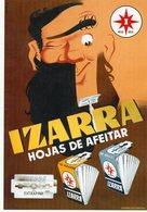 PUBLICITÉ BASQUE - IZARRA - Hojas De Afeitar - Tbe - Publicité