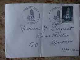 1er Jour Rodez Aveyron Journee Du Timbre 1967 - FDC