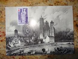 1er Jour Rodez Aveyron VII Eme Centenaire De La Cathedrale1977 - FDC