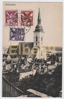 Slovaquie, Bratislava, Cathédrale Saint-Martin, écrite 1921, Timbres - Slovacchia